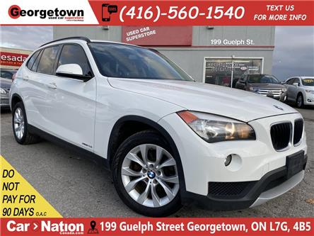 2013 BMW X1 28i XDRIVE | LEATHER | PANO | TINTS | HTD SEATS (Stk: P12729) in Georgetown - Image 1 of 25