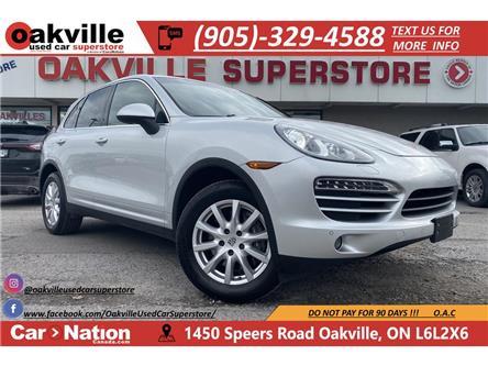2013 Porsche Cayenne V6 | SUNROOF | HTD VNTD SEATS | NAVI | B/U CAM (Stk: P12762) in Oakville - Image 1 of 22