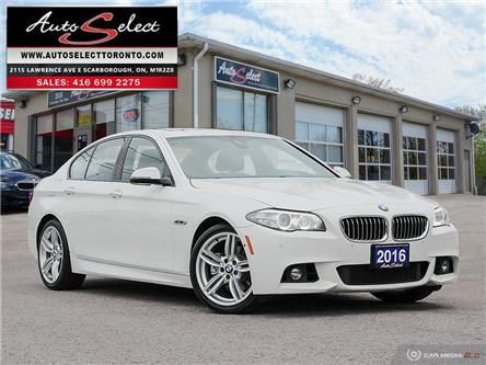 2016 BMW 528i xDrive (Stk: 1MMW3X1) in Scarborough - Image 1 of 30
