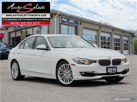 2015 BMW 320i xDrive (Stk: 1XMW201) in Scarborough - Image 1 of 29