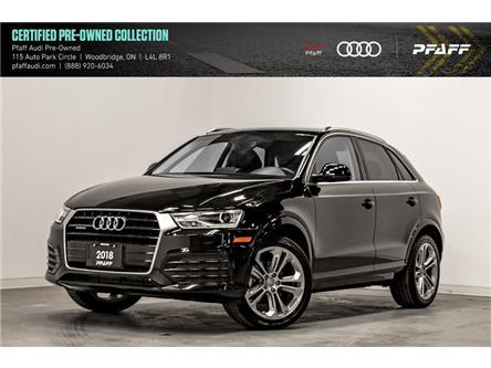 2018 Audi Q3 2.0T Progressiv (Stk: C7272) in Vaughan - Image 1 of 22