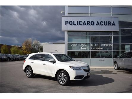 2016 Acura MDX Technology Package (Stk: 502652P) in Brampton - Image 1 of 13