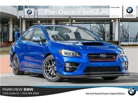 2016 Subaru WRX STI Sport-tech Package (Stk: T20601A) in Toronto - Image 1 of 22
