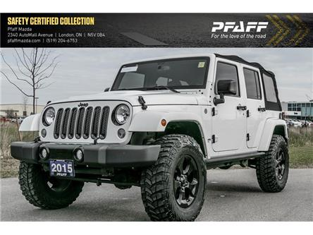 2015 Jeep Wrangler Unlimited Sahara (Stk: MA1822A) in London - Image 1 of 19
