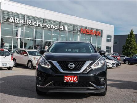 2016 Nissan Murano Platinum (Stk: RU2722) in Richmond Hill - Image 2 of 29