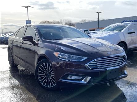 2017 Ford Fusion SE (Stk: 20T45A) in Midland - Image 1 of 17