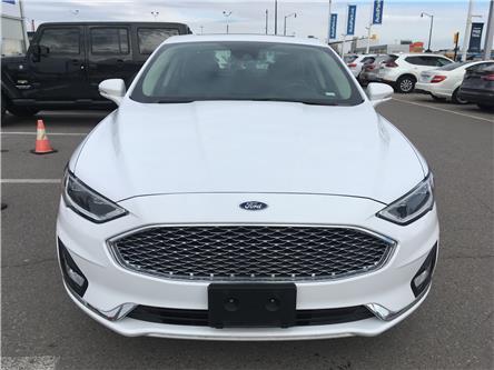 2019 Ford Fusion Hybrid Titanium (Stk: 19-55494) in Brampton - Image 2 of 30