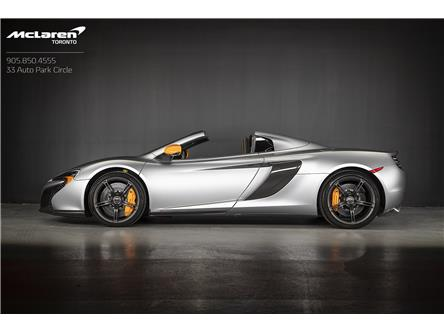 2015 McLaren 650S Spider (Stk: MC0594A) in Woodbridge - Image 1 of 19