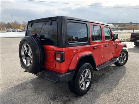 2019 Jeep Wrangler Unlimited Sahara (Stk: C3328) in Concord - Image 2 of 4