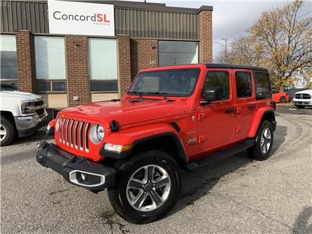 2019 Jeep Wrangler Unlimited Sahara (Stk: C3333) in Concord - Image 1 of 4
