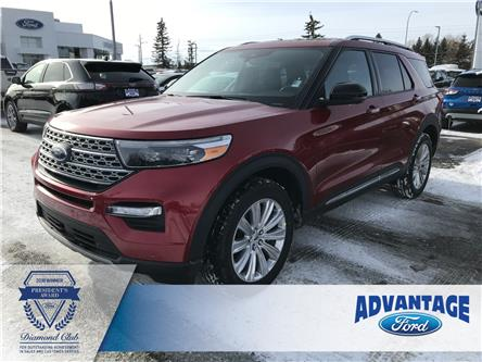 2020 Ford Explorer Limited (Stk: L-039) in Calgary - Image 1 of 6