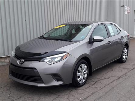 2016 Toyota Corolla LE (Stk: X4814A) in Charlottetown - Image 1 of 16