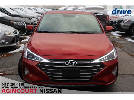 2019 Hyundai Elantra Preferred (Stk: U12689R) in Scarborough - Image 2 of 21