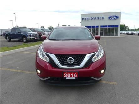 2016 Nissan Murano Platinum   AWD   NAV   HTD/AC LEATHER   PANOROOF   (Stk: LN94740A) in Brantford - Image 2 of 45
