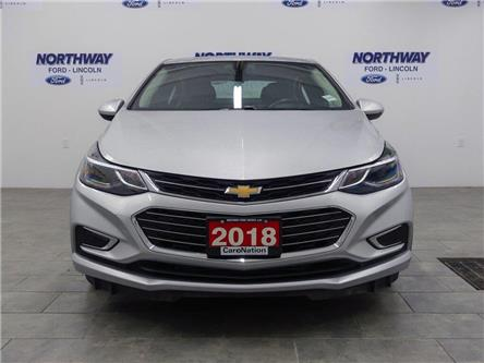 2018 Chevrolet Cruze Premier | LEATHER | HTD SEATS+WHEEL | PUSH START | (Stk: DR545) in Brantford - Image 2 of 35