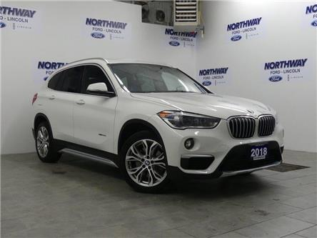 2018 BMW X1 xDrive28i | LEATHER | PANOROOF | REAR CAMERA (Stk: DR553) in Brantford - Image 2 of 31