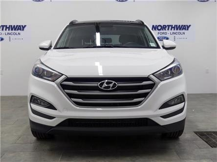 2018 Hyundai Tucson SE | AWD | HTD LEATHER | BACKUP CAM | PANOROOF | (Stk: DR366) in Brantford - Image 2 of 42