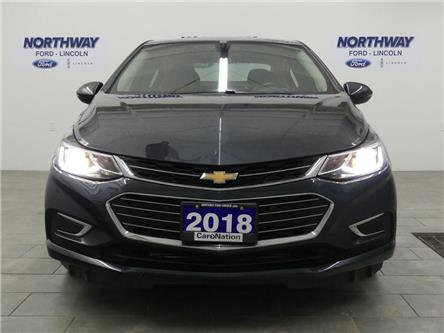 2018 Chevrolet Cruze Premier | LEATHER | HTD SEATS+WHEEL | PUSH START | (Stk: DR693) in Brantford - Image 2 of 30