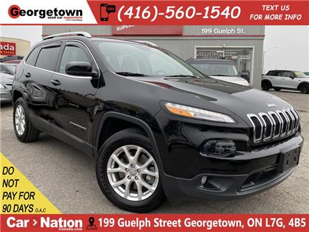 2017 Jeep Cherokee NORTH | 4WD | HTD SEATS/WHEEL | BACK UP CAM (Stk: FO20040A) in Georgetown - Image 1 of 27