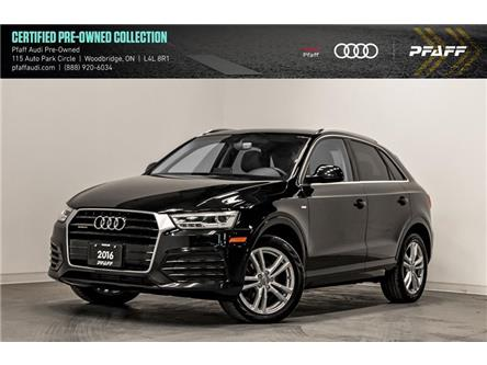 2016 Audi Q3 2.0T Technik (Stk: C7280) in Woodbridge - Image 1 of 22