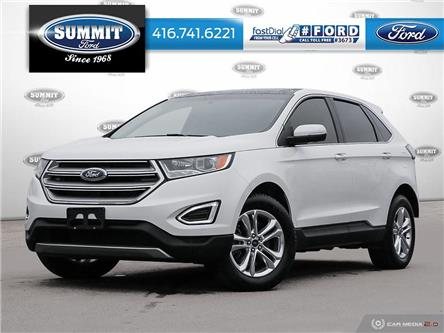 2016 Ford Edge SEL (Stk: PL21314) in Toronto - Image 1 of 27