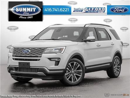 2019 Ford Explorer Platinum (Stk: 19T5770) in Toronto - Image 1 of 23