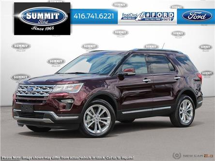 2019 Ford Explorer Limited (Stk: 19T5877) in Toronto - Image 1 of 24