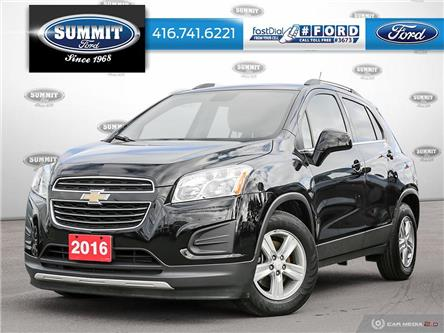2016 Chevrolet Trax LT (Stk: 19H6393A) in Toronto - Image 1 of 27