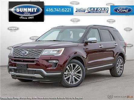 2019 Ford Explorer Platinum (Stk: 19T5922) in Toronto - Image 1 of 23