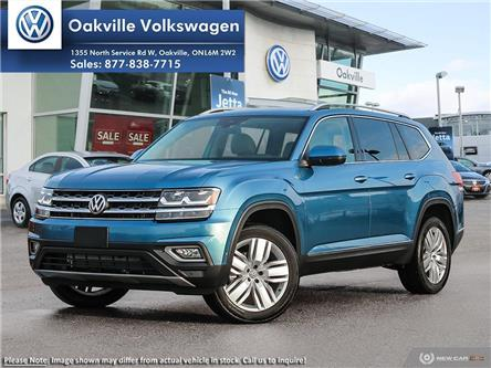 2019 Volkswagen Atlas 3.6 FSI Execline (Stk: 21278) in Oakville - Image 1 of 2