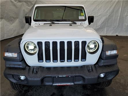 2020 Jeep Wrangler Unlimited Sport (Stk: 201051) in Thunder Bay - Image 2 of 10