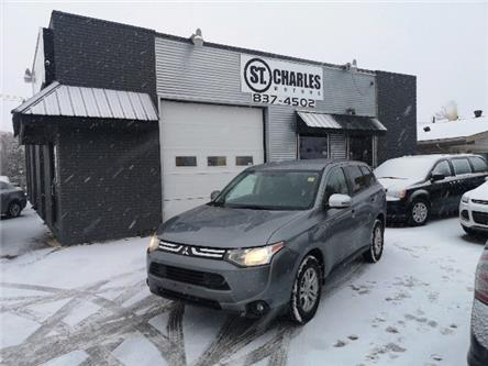 2014 Mitsubishi Outlander SE (Stk: -) in Winnipeg - Image 1 of 14