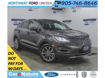2018 Lincoln MKC Select | AWD | PWR HTD LEATHER | PANOROOF | (Stk: LC97422A) in Brantford - Image 1 of 40