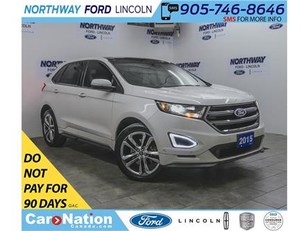 2015 Ford Edge Sport | AWD | NAV | LEATHER | PANOROOF | REAR DVD (Stk: OEX6276A) in Brantford - Image 1 of 43