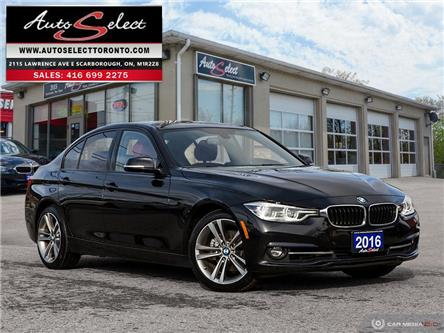 2016 BMW 328i xDrive (Stk: 166MRW2) in Scarborough - Image 1 of 28
