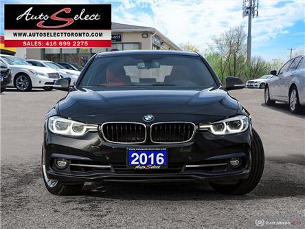 2016 BMW 328i xDrive (Stk: 166MRW2) in Scarborough - Image 2 of 28