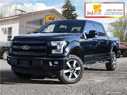2017 Ford F-150 Lariat (Stk: JB19114) in Brandon - Image 1 of 27