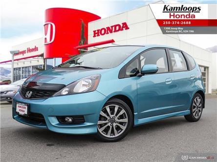 2013 Honda Fit Sport (Stk: 14614B) in Kamloops - Image 1 of 26