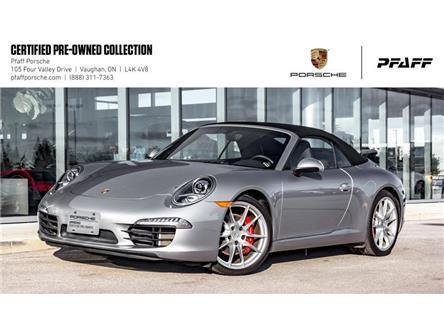 2016 Porsche 911 Carrera S Cabriolet (991) w/ PDK (Stk: U8313) in Vaughan - Image 1 of 22
