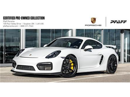2016 Porsche Cayman GT4 (Stk: U8296) in Vaughan - Image 1 of 21