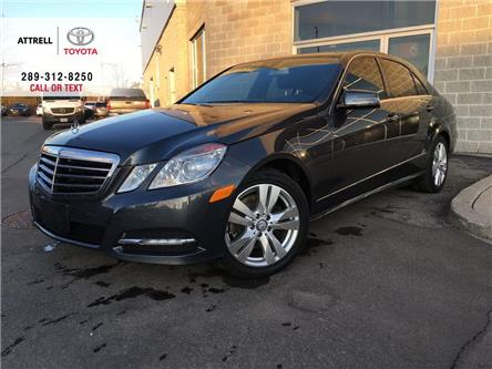 2013 Mercedes-Benz E-Class AWD LEATHER, NAVI, SUNROOF, ALLOYS, FOG LAMPS, POW (Stk: 45979A) in Brampton - Image 1 of 26