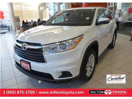 2015 Toyota Highlander LE (Stk: 200791) in Milton - Image 1 of 39