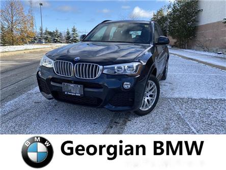 2016 BMW X3 xDrive28i (Stk: B19257-1) in Barrie - Image 1 of 14