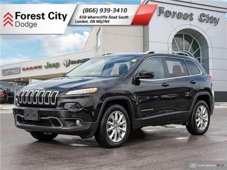 2016 Jeep Cherokee Limited (Stk: DL0025) in London - Image 1 of 28