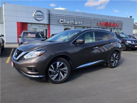 2016 Nissan Murano  (Stk: T9321A) in Chatham - Image 1 of 18