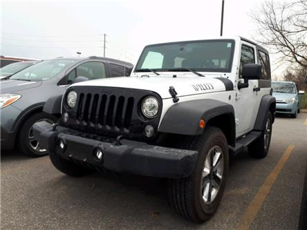 2017 Jeep Wrangler Sport (Stk: HL717916) in Sarnia - Image 1 of 3