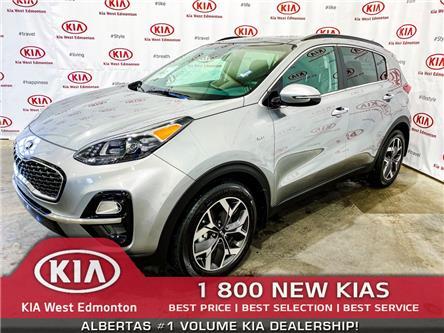 2020 Kia Sportage EX Tech (Stk: 22071A) in Edmonton - Image 1 of 44