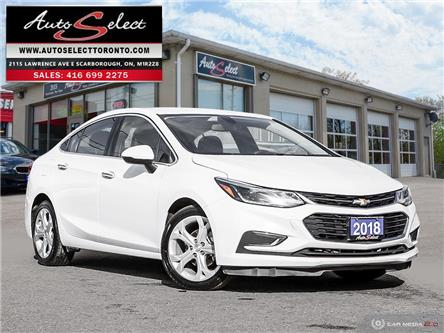 2018 Chevrolet Cruze Premier (Stk: 1CTPW49) in Scarborough - Image 1 of 25