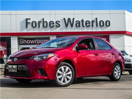 2016 Toyota Corolla LE (Stk: 02123R) in Waterloo - Image 1 of 23
