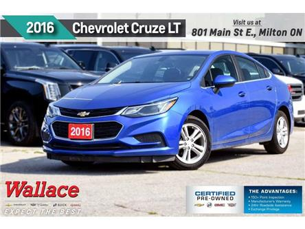 2016 Chevrolet Cruze LT/CONVENIENCE PK/HTD STS/CARPLAY/6-SPKR/1-OWNR (Stk: PL5243) in Milton - Image 1 of 24